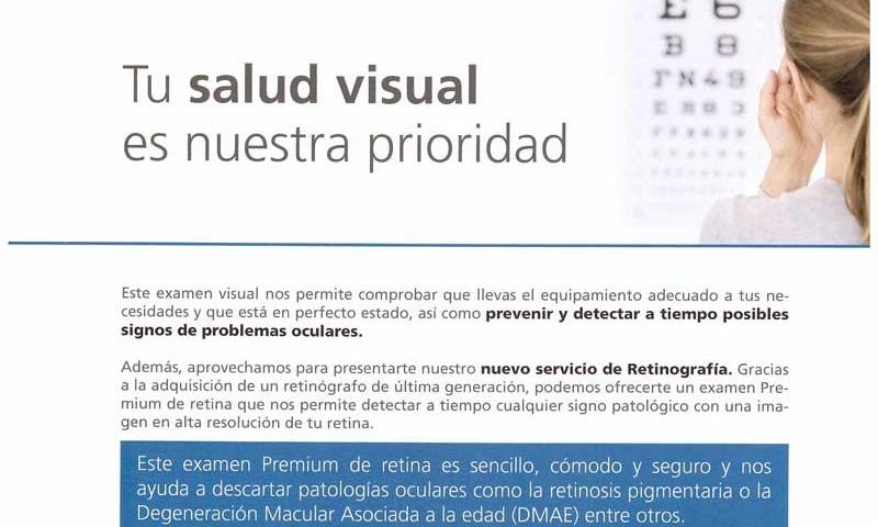 Examen Premium de Retina
